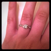 50% off Jared Jewelry - Sterling silver promise ring from ...