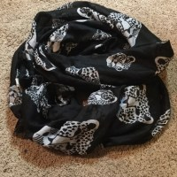 Black & White Leopard (image) Scarf OS from Lisa's closet