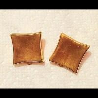 Anne Klein Jewelry | Vintage Gold Plate Clipon Earrings ...