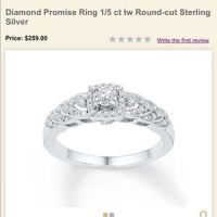 7% off Kay Jewelers Jewelry - Kay Promise Ring from ...
