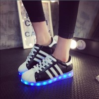 55% off Adidas Shoes - LED Light up shoes Size 10 womens ...