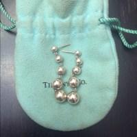 Tiffany & Co. Jewelry | Authentic Tiffany Drop Ball Silver ...