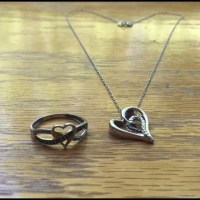 50% off Jewelry - Necklace and promise ring from Jennifer ...