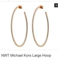 62% off Michael Kors Jewelry - Mk hoop earrings from ...