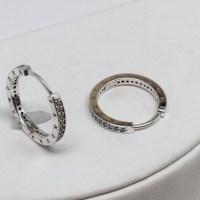 28% off Pandora Jewelry - New Pandora Signature Hoop ...