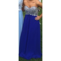 Lord & Taylor Dresses & Skirts   Royal Blue Prom Dress ...