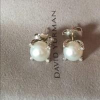 52% off David Yurman Jewelry - David Yurman Silver 9.5mm ...