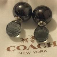 Coach - Coach Sphere Quartz Earrings from Priscilla's ...