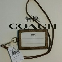 35% off Coach Accessories - COACH LANYARD / ID HOLDER from ...