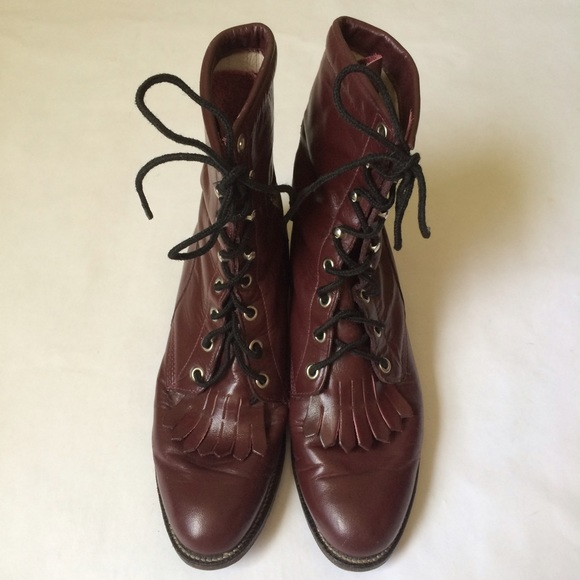 72 Off Justin Boots Shoes Flashjustin Men39s Lace Up