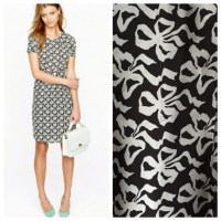69% off J. Crew Dresses & Skirts - J. Crew bow tie print ...