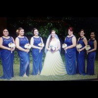 27% off David's Bridal Dresses & Skirts - Marine blue ...