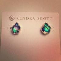 Kendra Scott Jewelry | Abalone Tessa Studs | Poshmark