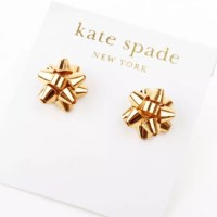 kate spade Jewelry Brand New Bourgeois Bow Earrings | Poshmark