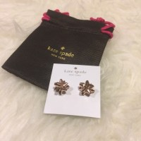 kate spade - Choice Of Bourgeois Bow Stud Earrings from ...