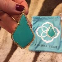 Kendra Scott - Kendra Scott Alexandra earrings in teal ...