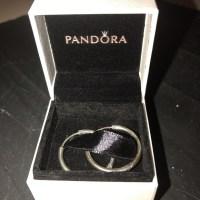 "50% off Pandora Jewelry - Pandora Sterling Silver 1"" hoop ..."