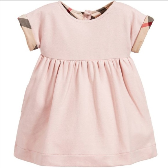 Burberry Dresses Baby Girl Pink Dress 6 Month Poshmark