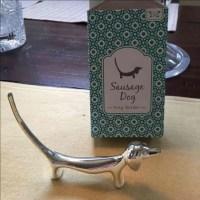 "33% off Other - Dachshund ""sausage dog"" metal ring holder ..."