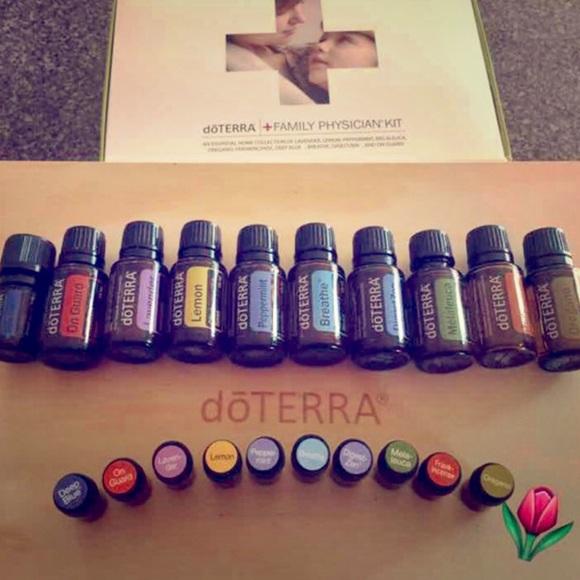 Other Doterra 2ml Family Physicians Kit Essential Oils Poshmark