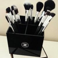 CHANEL - Chanel vanity makeup brush holder organizer from ...