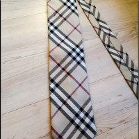 82% off Burberry Other - Authentic Burberry Tie with ...