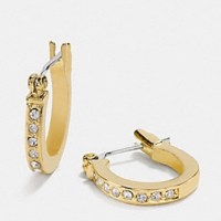 41% off Coach Jewelry - Coach signature pave crystal gold ...