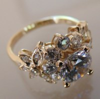 65% off Jewelry - 14k Solid Yellow Gold Engagement Ring ...