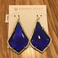Kendra Scott - Kendra Scott Alexandra Earrings in Cobalt ...