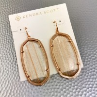 Kendra Scott - Kendra Scott Danielle gold dusted earrings ...