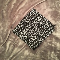 87% off Ann Taylor Accessories - Black and White Leopard ...