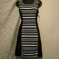 73% off Express Dresses & Skirts - XS Petite EXPRESS B& W ...
