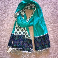 Old Navy - NWT Old Navy Patterned Tassel Scarf from ...