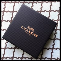 54% off Coach Jewelry -  NWT Coach Silver Circle Stone ...