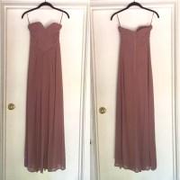 62% off H&M Dresses & Skirts - Strapless Chiffon Formal ...