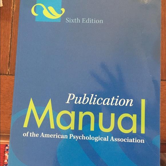Apa Other Manual Poshmarkpsychiatry Online Home A Pocket Style