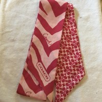 Coach - Coach Retired silk Pony Tail Scarf from ...