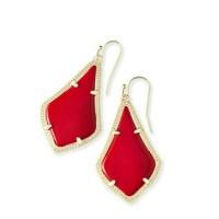 Kendra Scott - *NEW* Kendra Scott Red Alexandra Earrings ...