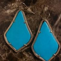 9% off Kendra Scott Jewelry - Kendra Scott Gold Turquoise ...