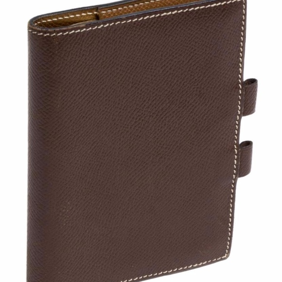 Hermes Bags Box Mini Agenda Cover Address Book Poshmark