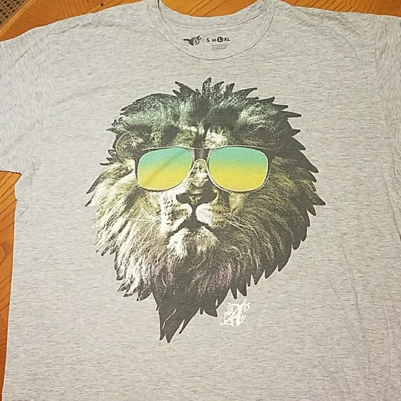 Alab Clothing Shirts Alab Casual Lion Tshirt Poshmark