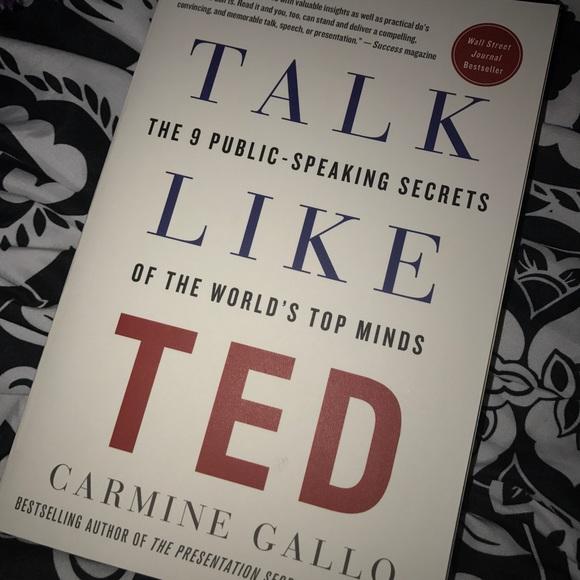 Other Talk Like Ted Public Speaking Book Poshmark