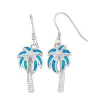 20% off Jewelry - SILVER AND OPAL PALM TREE EARRINGS from ...