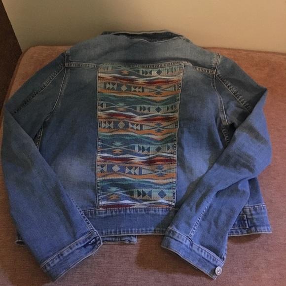 LuLaRoe Jackets  Coats L Harvey Denim Jacket Nwot Poshmark