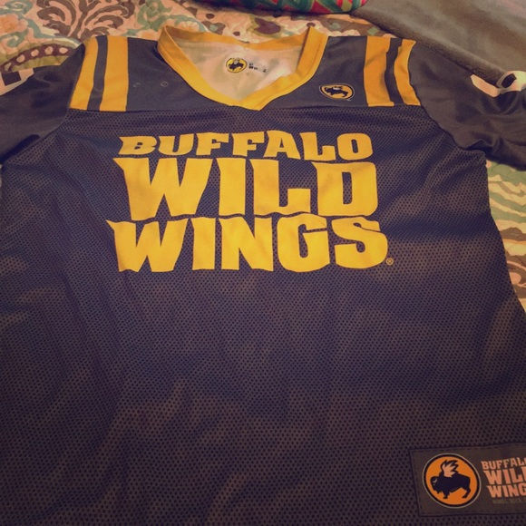 Tops Buffalo Wild Wings Jersey Server Uniform Poshmark
