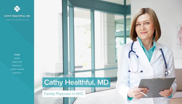 Family Physician - Website template - Webnode