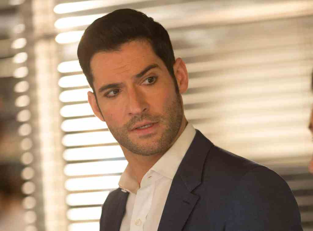 "LUCIFER: Tom Ellis in the ""Sympathy for the Goddess"" episode of LUCIFER airing Monday, May 22 (9:01-10:00 PM ET/PT) on FOX. Cr: Michael Courtney/FOX"