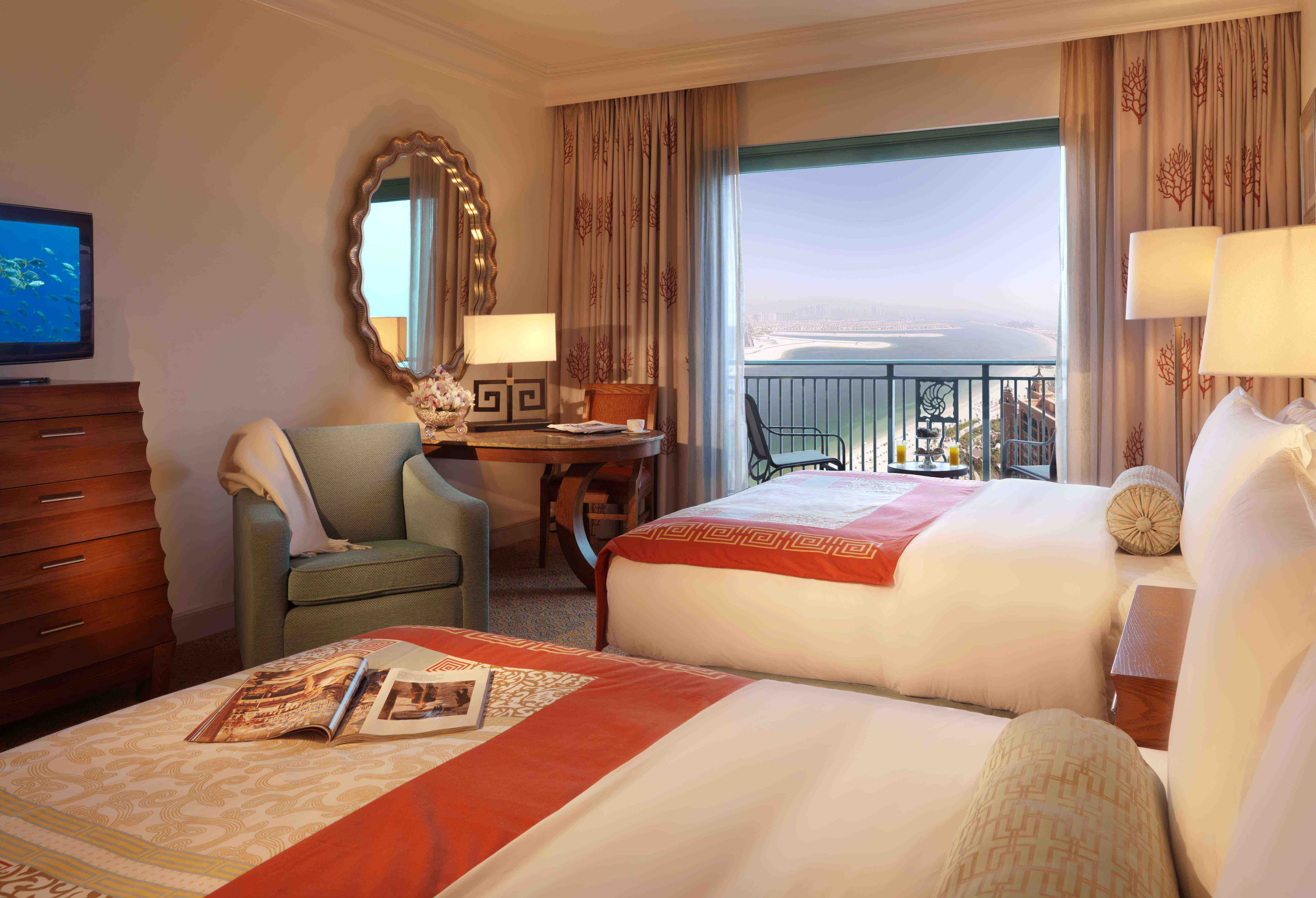 Atlantis Rooms Five Luxury Hotels On The Palm Jumeirah
