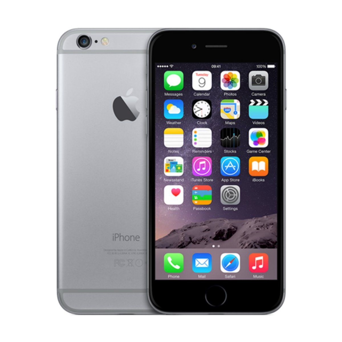 Catalogos De Moviles Libres Apple Iphone 6 Plus Space Grey 128gb