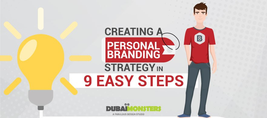 Creating a Personal Branding Strategy in 9 Easy Steps - Infographics